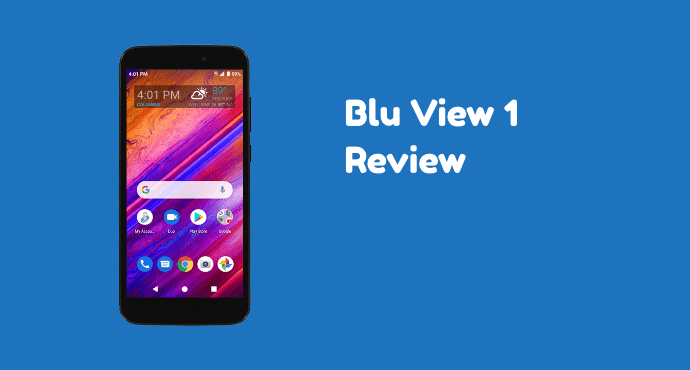 Blu View 1 Review