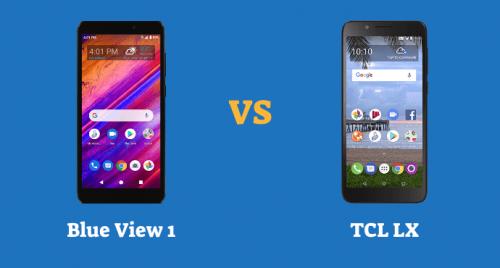 Blu View 1 vs TCL LX