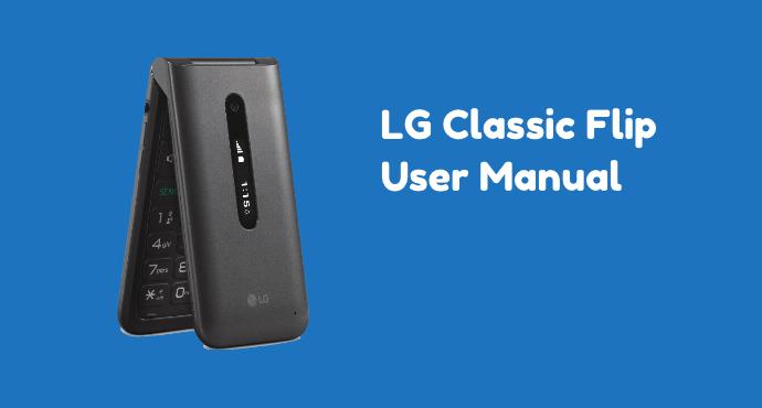 LG Classic Flip User Manual