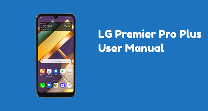 LG Premier Pro Plus User Manual
