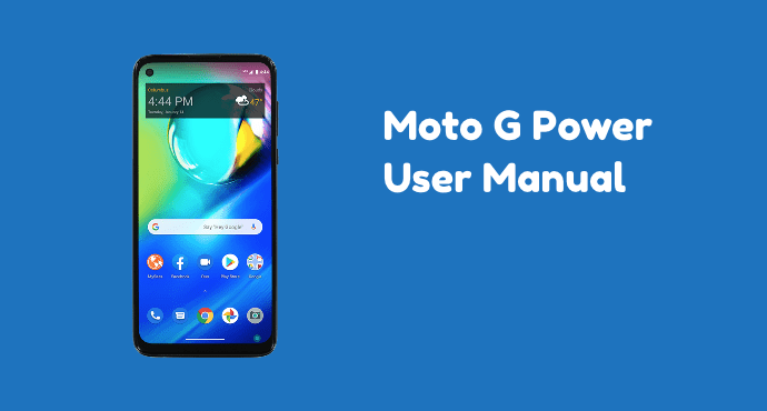 Moto G Power User Manual