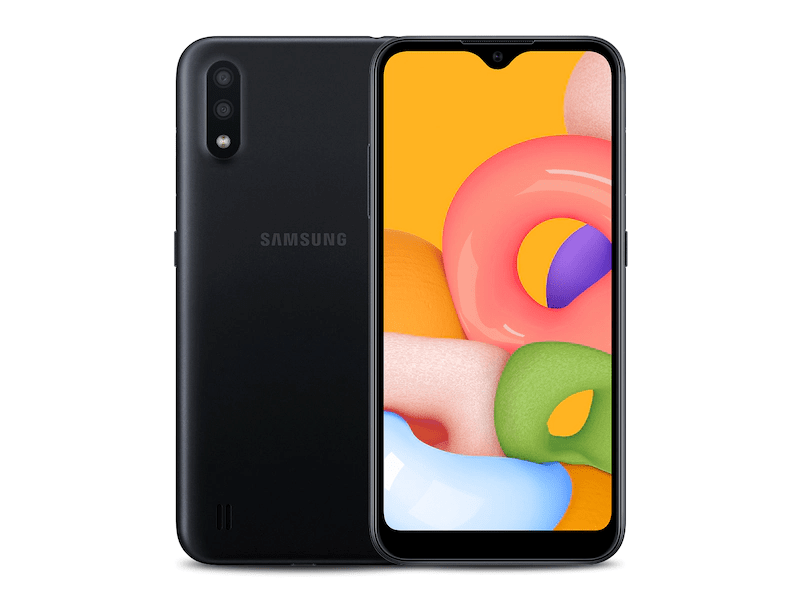 Samsung Galaxy A01 Design