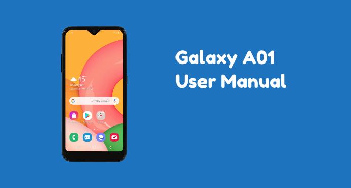 Samsung Galaxy A01 User Manual