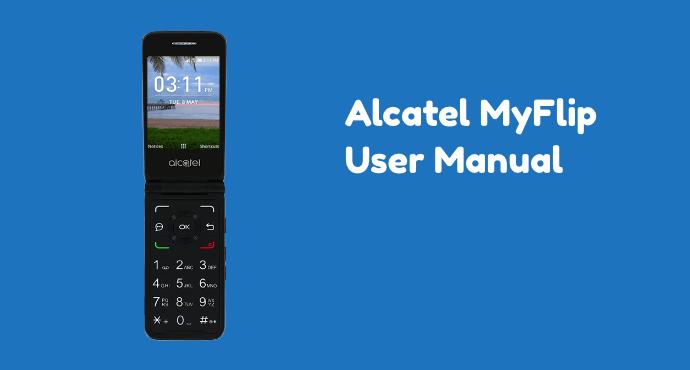 Alcatel MyFlip A405DL User Manual