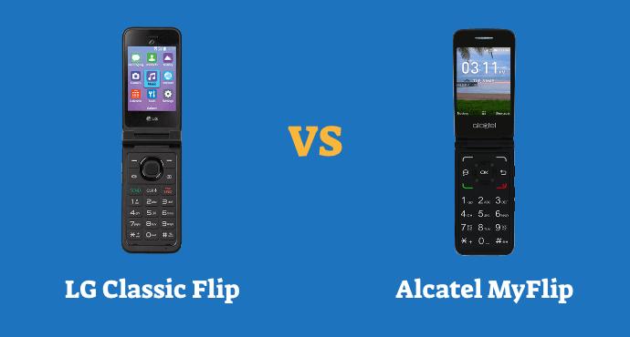 LG Classic Flip vs Alcatel MyFlip Comparison
