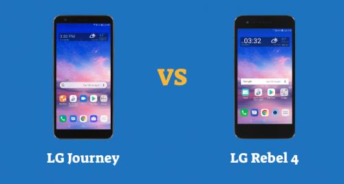 LG Journey vs LG Rebel 4