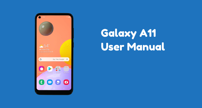 Samsung Galaxy A11 User Manual