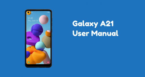 Samsung Galaxy A21 User Manual