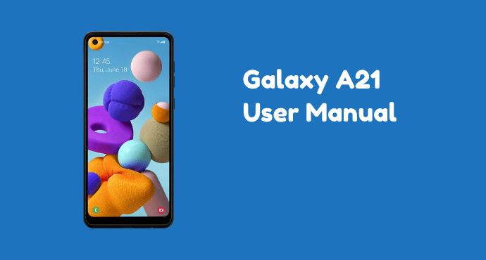 Samsung Galaxy A21 User Manual