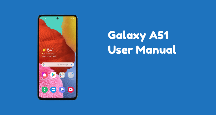 Samsung Galaxy A51 User Manual