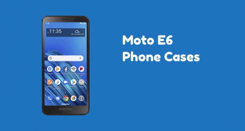 Moto E6 Phone Cases