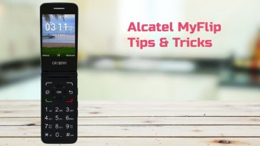 Alcatel MyFlip Tips Tricks