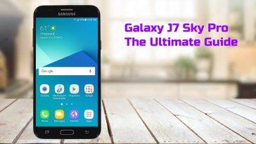 Galaxy J7 Sky Pro Tutorial