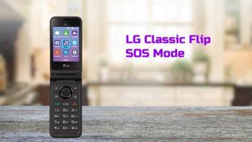 LG Classic Flip SOS Mode Guide