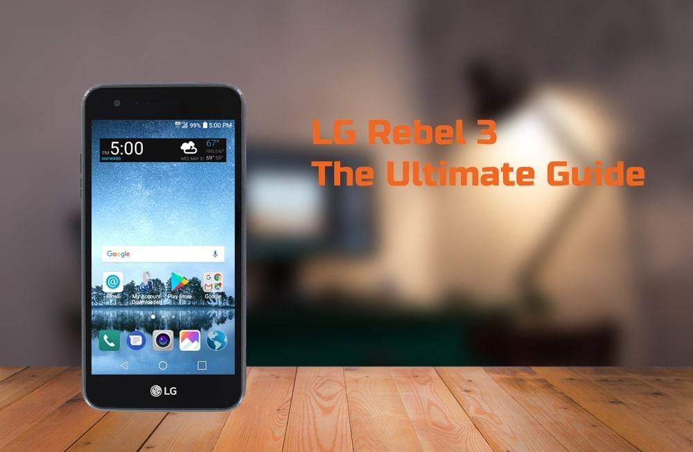 LG Rebel 3 Tutorial