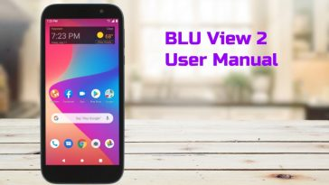 blu view 2 user manual