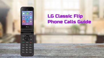 lg classic flip call guide