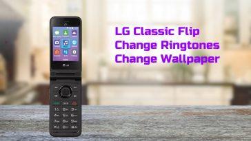 lg classic flip change ringtone
