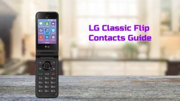 lg classic flip contact guide
