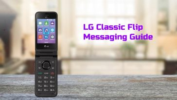 lg classic flip messaging guide