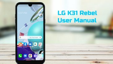 lg k31 rebel user manual