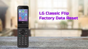LG Classic Flip Factory Data Reset