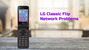 LG Classic Flip Network Problem