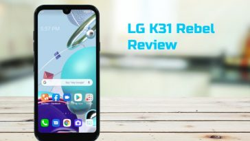 lg k31 rebel review
